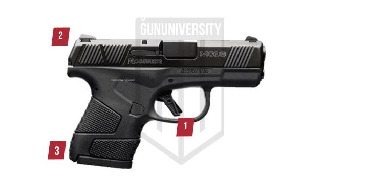 mossberg pistol features gun university