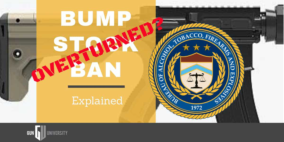 Bump Stock Ban Overturned?